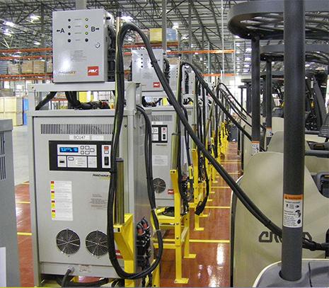 PosiCharge Forklift Battery Charging